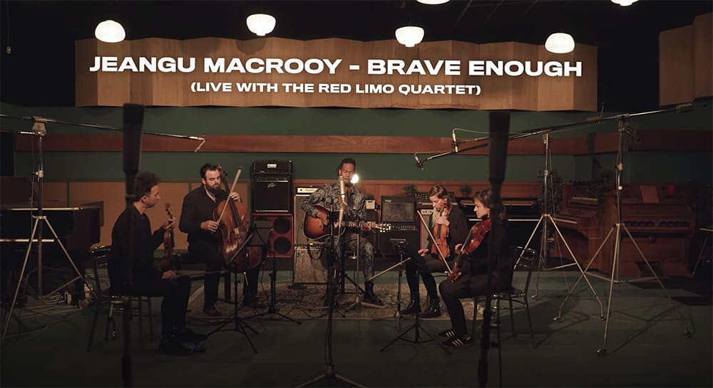 Jeangu Macrooy – Brave Enough (Live with the Red Limo Quartet)